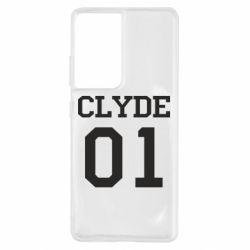 Чехол для Samsung S21 Ultra Clyde 01