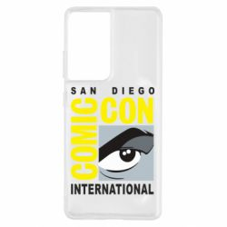 Чохол для Samsung S21 Ultra Comic-Con International: San Diego logo
