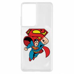 Чохол для Samsung S21 Ultra Comics Superman