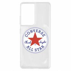Чохол для Samsung S21 Ultra Converse