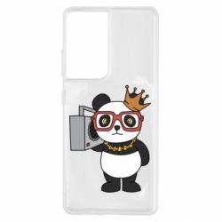 Чохол для Samsung S21 Ultra Cool panda