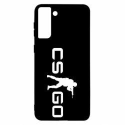 Чехол для Samsung S21 Ultra Counter Strike GO