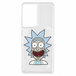 Чехол для Samsung S21 Ultra Crazy Rick