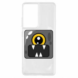 Чохол для Samsung S21 Ultra Cute black boss