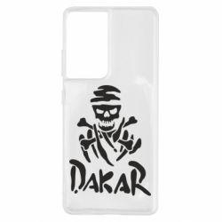 Чохол для Samsung S21 Ultra DAKAR LOGO