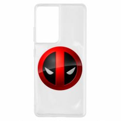 Чехол для Samsung S21 Ultra Deadpool Logo