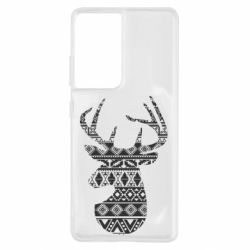 Чохол для Samsung S21 Ultra Deer from the patterns