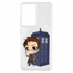 Чохол для Samsung S21 Ultra Doctor who is 10 season2