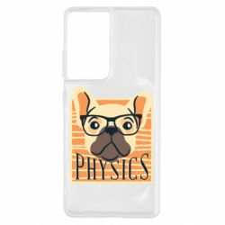 Чехол для Samsung S21 Ultra Dog Physicist