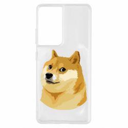 Чохол для Samsung S21 Ultra Doge