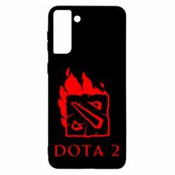 Чохол для Samsung S21 Ultra Dota 2 Fire