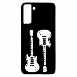 Чохол для Samsung S21 Ultra Дві гітари