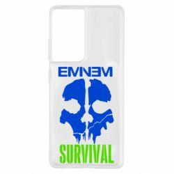 Чохол для Samsung S21 Ultra Eminem Survival