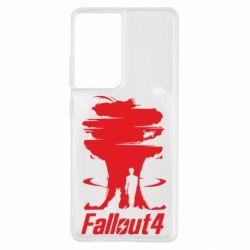 Чехол для Samsung S21 Ultra Fallout 4 Art