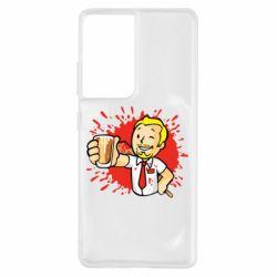 Чохол для Samsung S21 Ultra Fallout  boy blood
