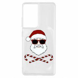 Чохол для Samsung S21 Ultra Fashionable Santa
