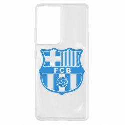 Чохол для Samsung S21 Ultra FC Barcelona