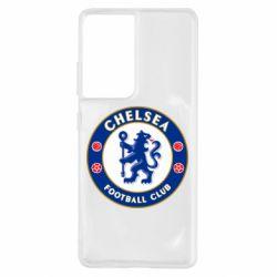 Чехол для Samsung S21 Ultra FC Chelsea