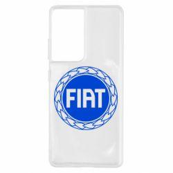 Чохол для Samsung S21 Ultra Fiat logo