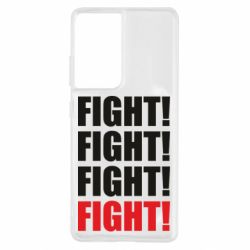 Чехол для Samsung S21 Ultra Fight!