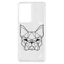 Чехол для Samsung S21 Ultra French Bulldog Art
