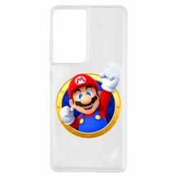 Чохол для Samsung S21 Ultra Герой Маріо