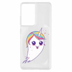 Чохол для Samsung S21 Ultra Ghost Unicorn