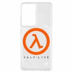 Чехол для Samsung S21 Ultra Half-life logotype