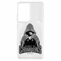 Чехол для Samsung S21 Ultra Heart of Champions