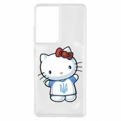Чехол для Samsung S21 Ultra Hello Kitty UA