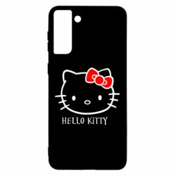 Чохол для Samsung S21 Ultra Hello Kitty