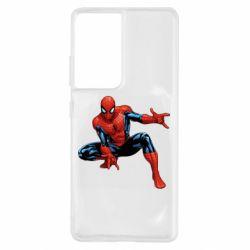 Чохол для Samsung S21 Ultra Hero Spiderman
