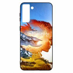 Чехол для Samsung S21 Ultra Horizon Zero Dawn art