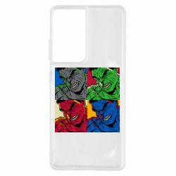 Чохол для Samsung S21 Ultra Hulk pop art