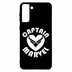 Чохол для Samsung S21 Ultra I love Captain Marvel