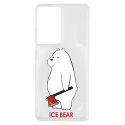 Чохол для Samsung S21 Ultra Ice bear