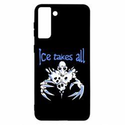 Чохол для Samsung S21 Ultra Ice takes all Dota