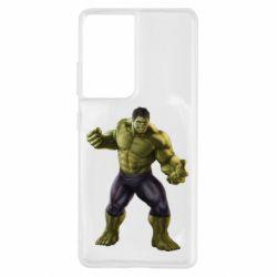 Чохол для Samsung S21 Ultra Incredible Hulk 2