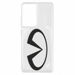 Чехол для Samsung S21 Ultra Infiniti logo