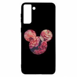 Чохол для Samsung S21 Ultra Inner world flowers mickey mouse