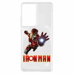 Чохол для Samsung S21 Ultra Iron Man 2