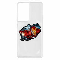Чохол для Samsung S21 Ultra Iron Man and Avengers
