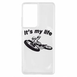 Чохол для Samsung S21 Ultra it's my moto life