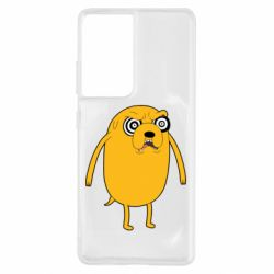 Чохол для Samsung S21 Ultra Jake from  Adventure Time