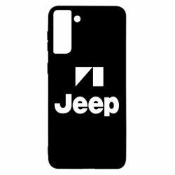 Чехол для Samsung S21 Ultra Jeep Logo