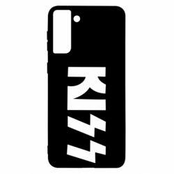 Чохол для Samsung S21 Ultra Kiss Logo