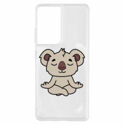Чехол для Samsung S21 Ultra Koala