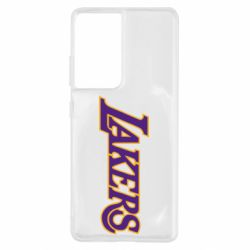 Чохол для Samsung S21 Ultra LA Lakers