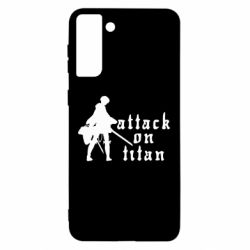 Чохол для Samsung S21 Ultra Levi from Attack on Titan