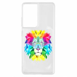 Чохол для Samsung S21 Ultra Lion vector